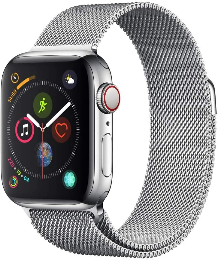 AppleWatch Series4 (GPS+Cellular, 40mm) - Stainless Steel Case with Milanese Loop