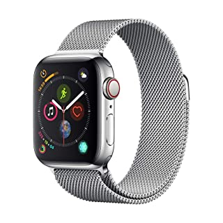 Apple Watch Series 4 (GPS + Cellular, 40mm) - Stainless Steel Case with Milanese Loop