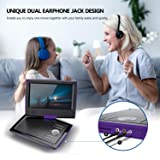 "SUNPIN 11"" Portable DVD Player for Car and Kids"
