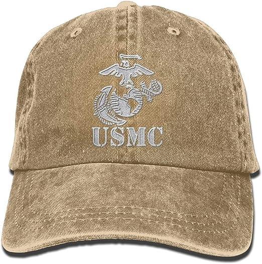 USMC United States Marine Corps Eagle Globe /& Anchor Vintage Mesh Hat Olive