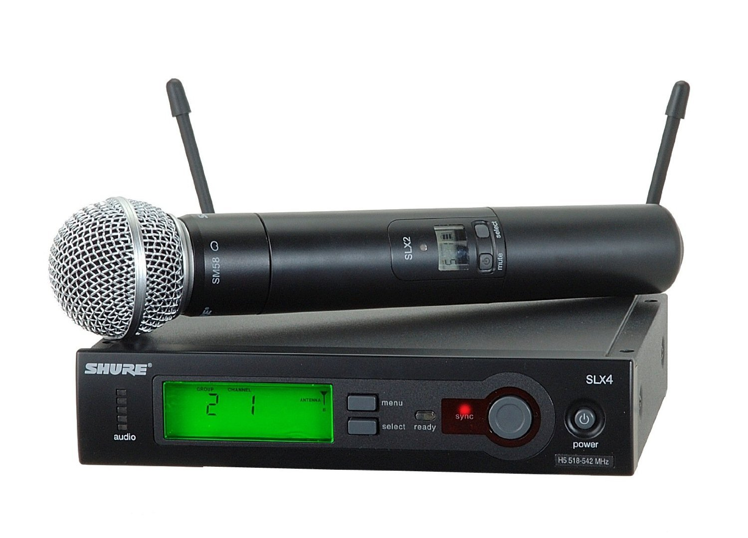 Shure SLX24/SM58 Handheld Wireless System, H5 by Shure