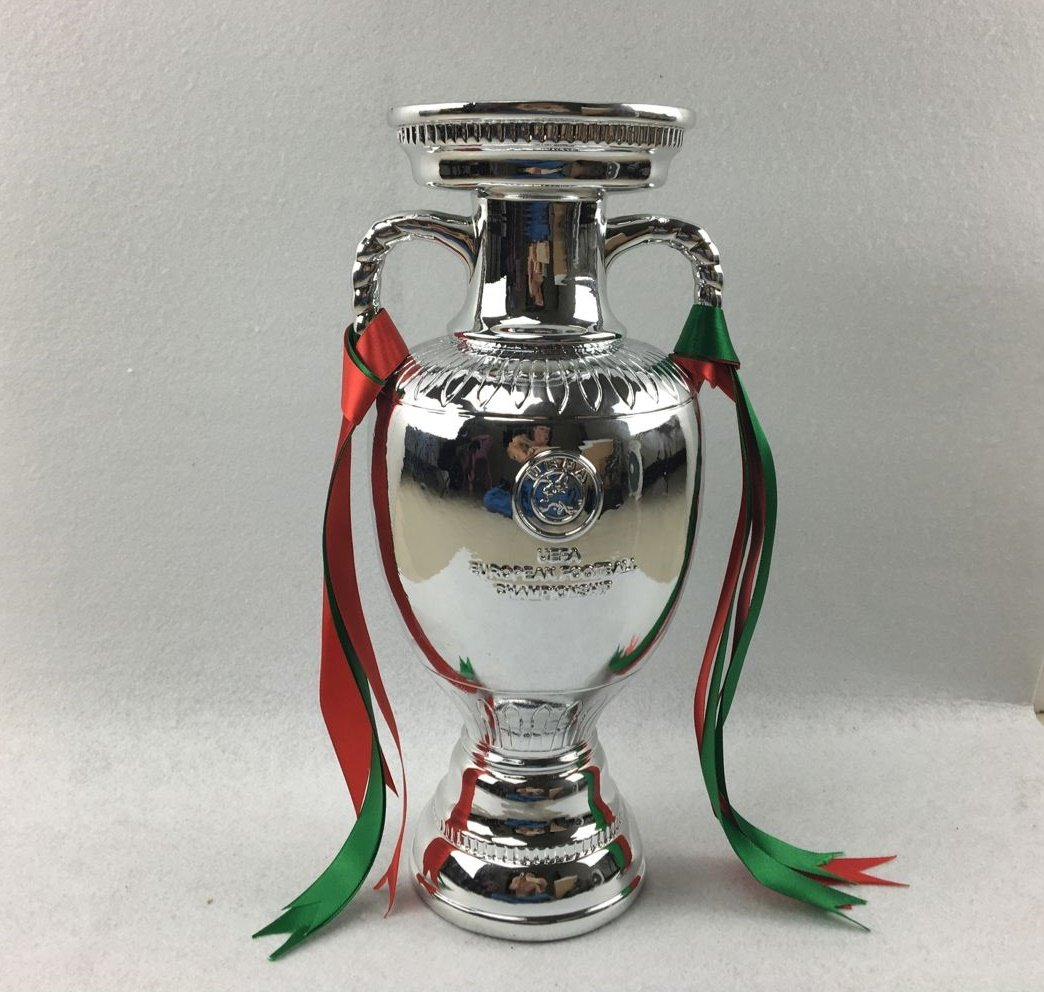 UEFA EURO Cup Trophy  2016 Portugal  Final Champions Award France 45CM 18INCHES