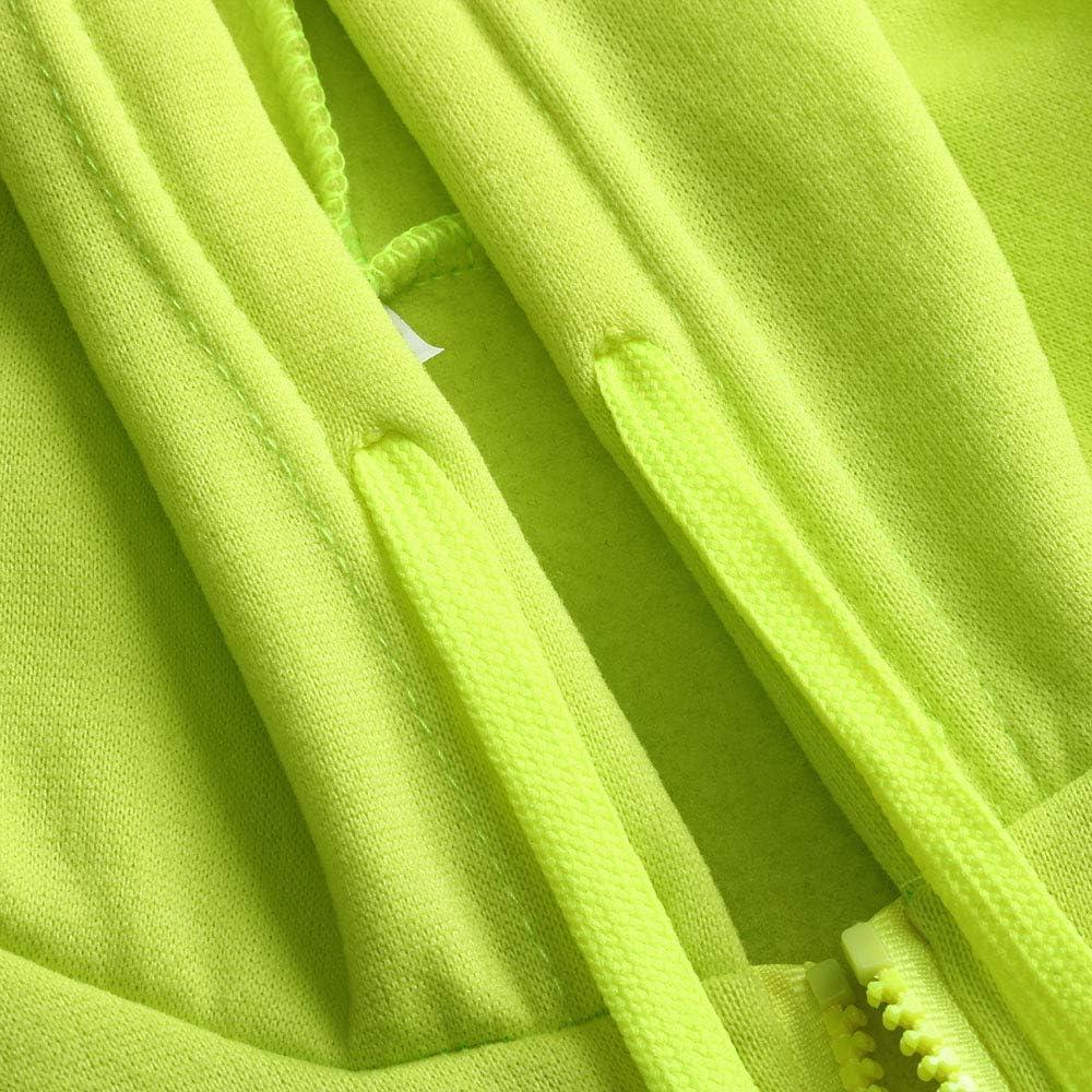 Eghunooye Herren Kapuzen Sweatshirt Reflektierend Jacke Sicherheit Verkehr Arbeitsjacke Warnschutzjacke Gelb Orange Reflektionsstreifen Sicherheit Kapuzenpullover Arbeitskleidung