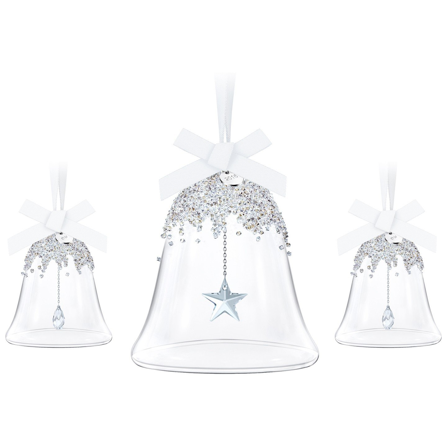 Swarovski Annual Edition 2016 Christmas Bell Ornament, 3-Piece Set 5223283