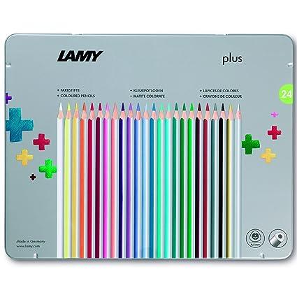 Amazon.com: Lamy Plus lápices de colores en caja de metal ...