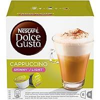Nescafe Dolce Gusto Skinny Cappuccino Coffee Capsules (16 Capsules, 8 Cups)