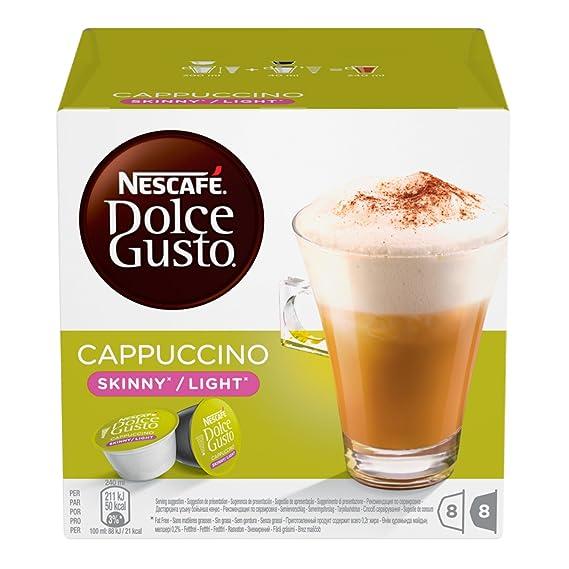 Nescafé Dolce Gusto Café molido de tueste natural y leche desnatada en polvo - 162 gr