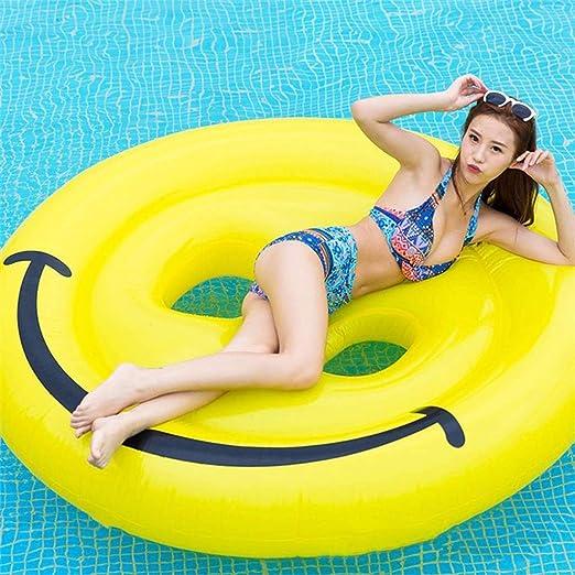 Pool Toy Piscina Inflable Flotador Gigante Inflable Cara Sonriente ...