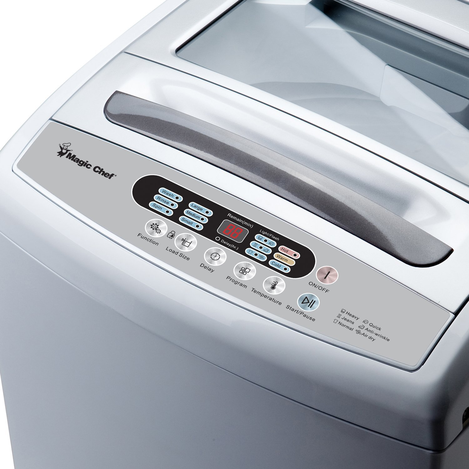 Amazon.com: Magic Chef Mcstcw16W2 Topload Compact Washer: Kitchen U0026 Dining