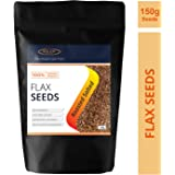 Sinew Nutrition Roasted Flax Seeds 150gm