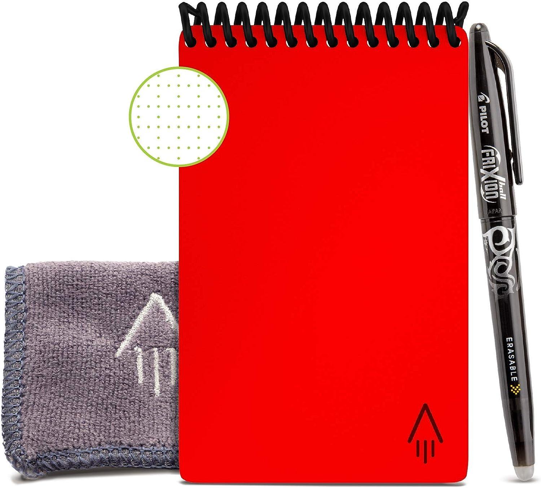 Rocketbook Everlast Mini Smart color Infinity Black 3.5 x 5.5 Cuaderno reutilizable