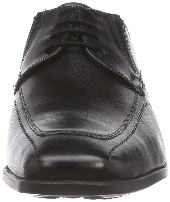 Negro Zapatos 40 Bugatti Cordones Hombre De Para Derby Eu U53071 00q5r8