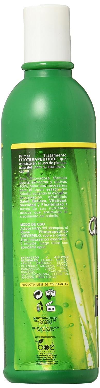 Boe Coesmtics Crece Pelo Natural Phitoterapeutic Rinse, 12 Ounce