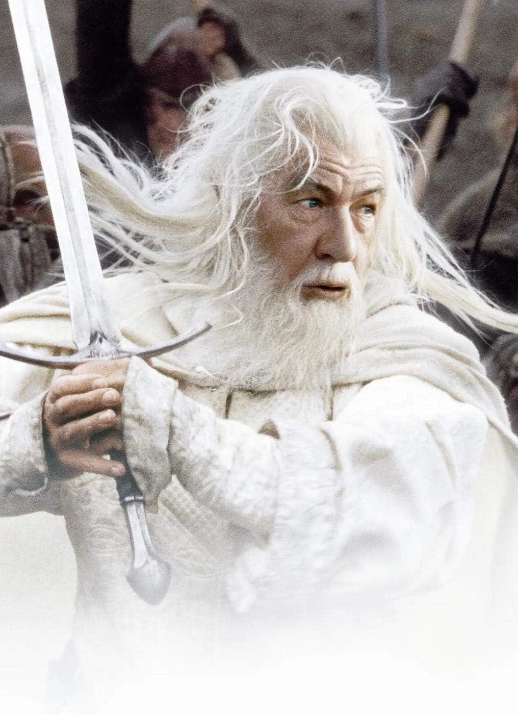 vhidfsjgdsfik Kit de Pintura de Diamantes 5D-DIY Punto de Cruz 40x50cm Mapa del Hobbit del Señor de los Anillos del Medio Eh Estilo de película Decoración del hogar