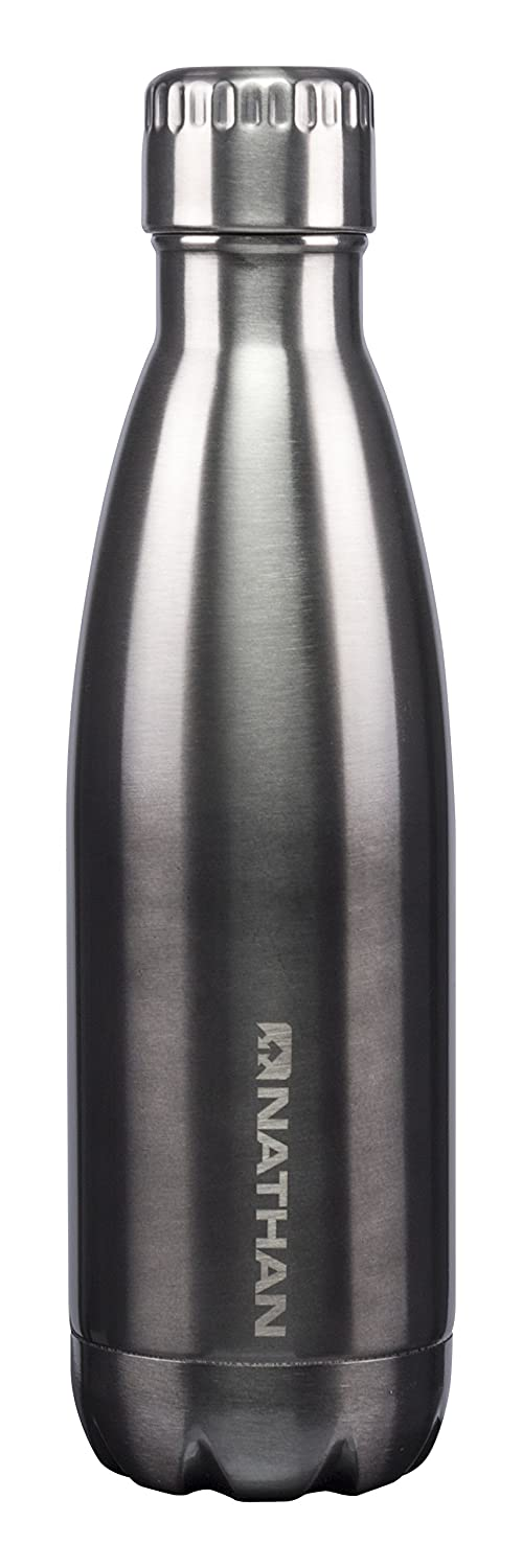 Nathan Chroma Steel Water Bottle BPA Free 17oz /& 25oz
