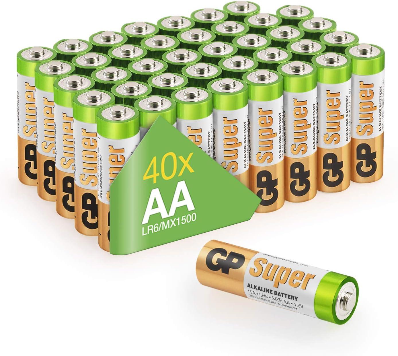 Gp Batterien Aa Vorratspack Super Alkaline Besonders Elektronik