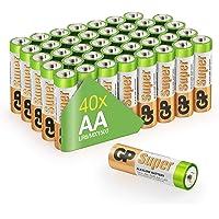GP-batterijen LR06 1.5 V SUPER Alkaline Multipacks Mignon AA-batterij, pak van 40