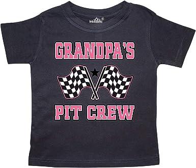 inktastic I Love Racing Rally Flags Girls Toddler T-Shirt