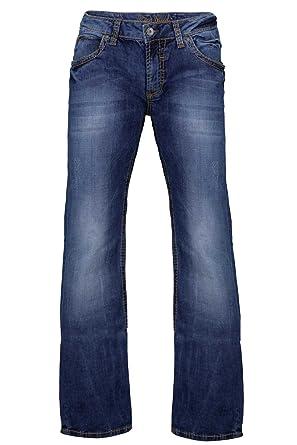 Camp David Herren Jeans Boot Cut NI:CO:R611 Regular FIT Low Waist