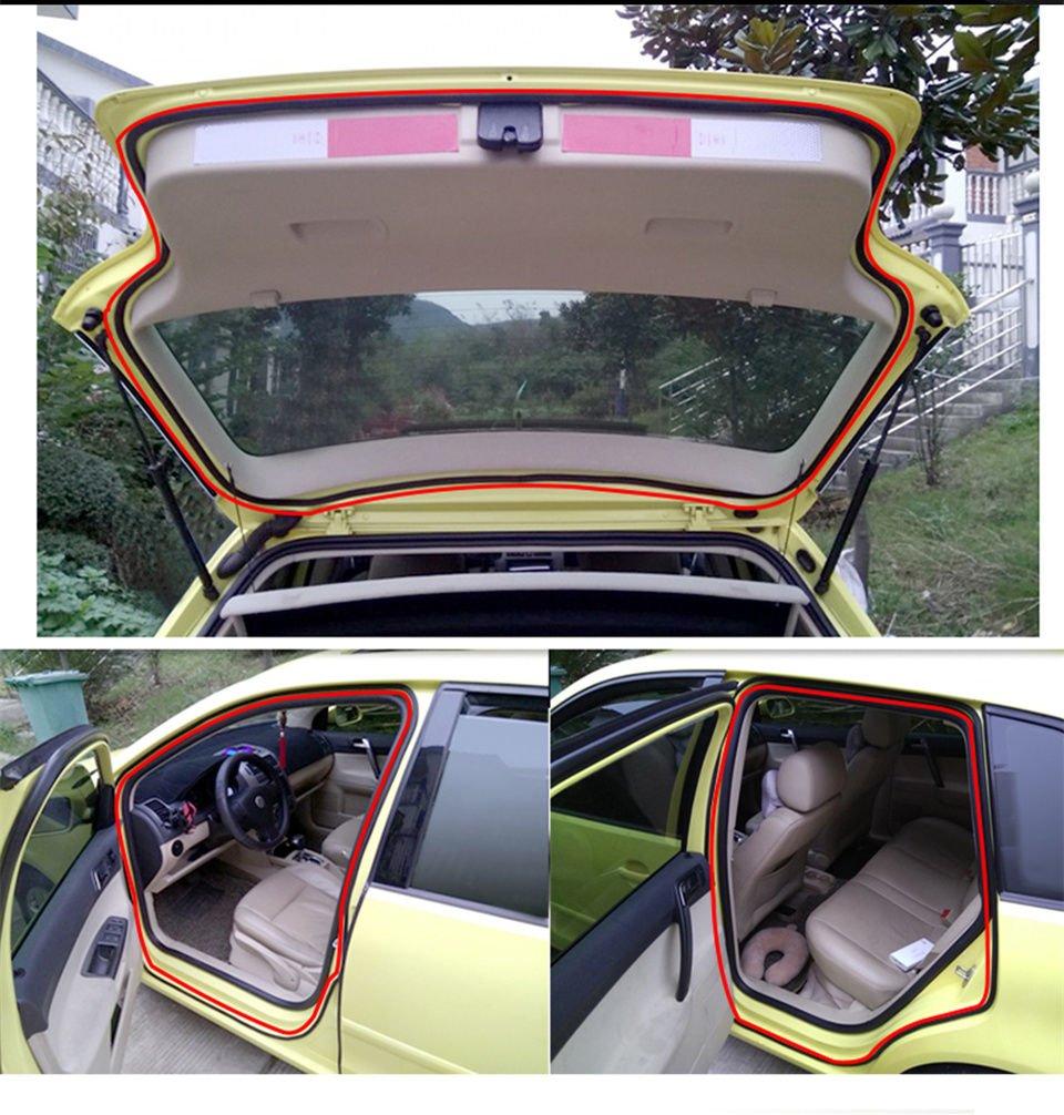 4/m 4/m Forme Z de voiture camion Moteur Porte Big Z Type de joint en caoutchouc Bande m/ét/éo OEM creux