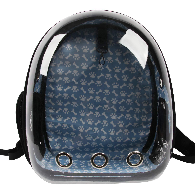 Conysan Chat Chien Transport Le Voyage Astronaute Sac Transparent Respirant (Noir)