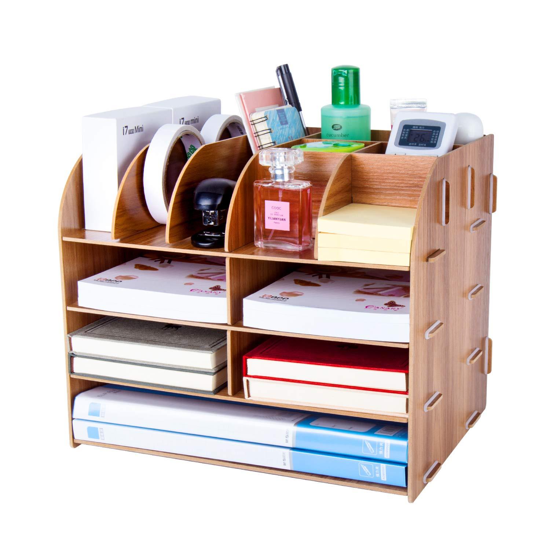 Pen Holders Stick On Desktop Laptop Table Makeup Plastic Storage Pen Holder Plastic Office Desk Organizer Stationery Storage Tube
