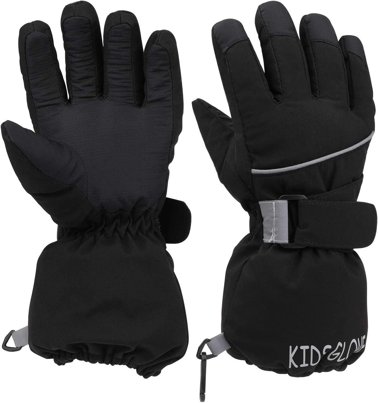 Cycling Winter Snow Mitts Outdoor Activities for Boys /& Girls Kids Ski Gloves age 3-5 Waterproof Snow Ski Mittens Windproof Cold Weather Warm Thermal Gloves for Skiing Snowboarding