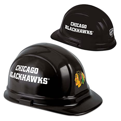 Amazon.com  Wincraft NHL Chicago Blackhawks Packaged Hard Hat  Home ... 18b5cb890ea
