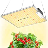 MAXSISUN 100W Grow Light, Remote Control Dimmable PB 1000 Pro LED Grow Lights for Indoor Plants, Full Spectrum High-Performan