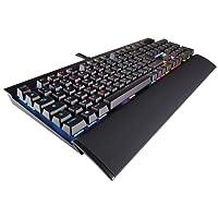 Corsair K70 LUX RGB Clavier Mécanique Gaming (Cherry MX Brown, Rétro-Éclairage RGB Multicolore, AZERTY) Noir