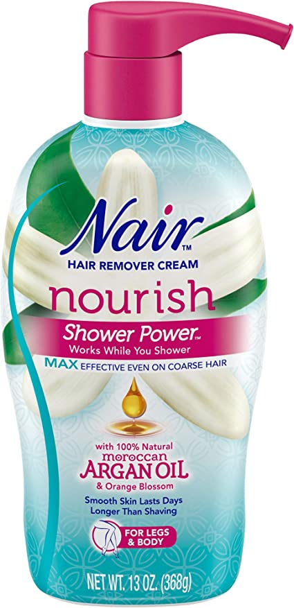 Amazon Com Nair Hair Remover Cream Nourish Shower Power Moroccan