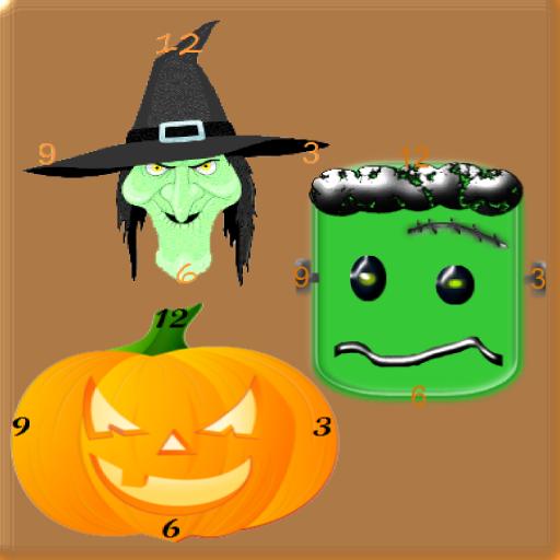Cheap  Crazy Home Clock Halloween