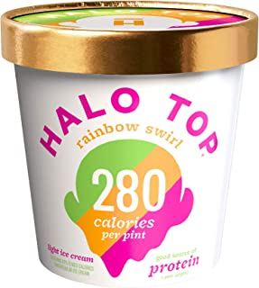 product image for Halo Top, Rainbow Swirl Ice Cream, Pint (8 Count)