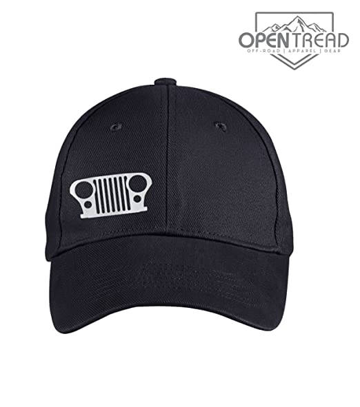 CJ7 Grill Hat - Black - Jeep Hat at Amazon Men s Clothing store  8a925eae8a5