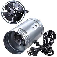 """Yescom 4"""" Inline Duct Booster Exhaust Fan Aluminum Blade Ventilation Air Blower"""