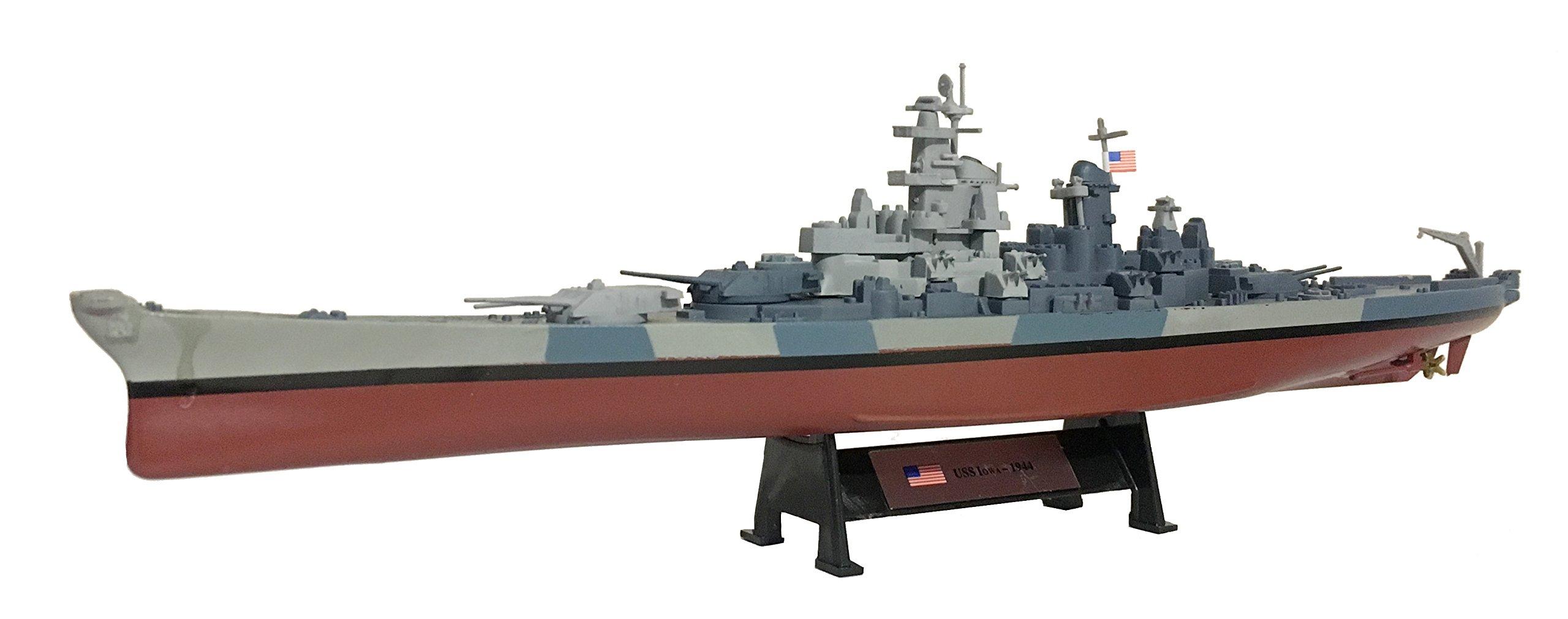 USS Iowa 1944 - 1:1000 Ship Model (Amercom ST-13)