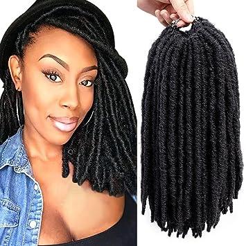 Amazon Com Mirra S Mirror Dreadlocks Crochet Braids Hair Synthetic