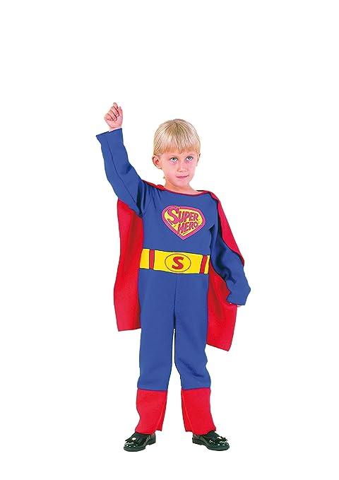EL CARNAVAL Disfraz Superman Talla 2-3 años - Disfraz Super héroe ...