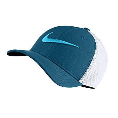 99644f0762e NIKE Boy`s AeroBill Classic 99 Mesh Hat (Water Blue(849531-474) White