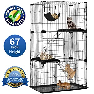 Cat Cage Pet Playpen Cat Crate Kennels Large