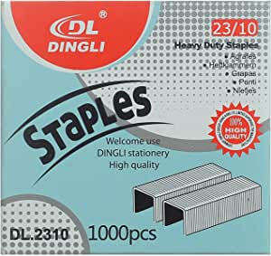 Dingli Dl.2310 Heavy Duty Staples 23/10 1000 Pieces - Silver