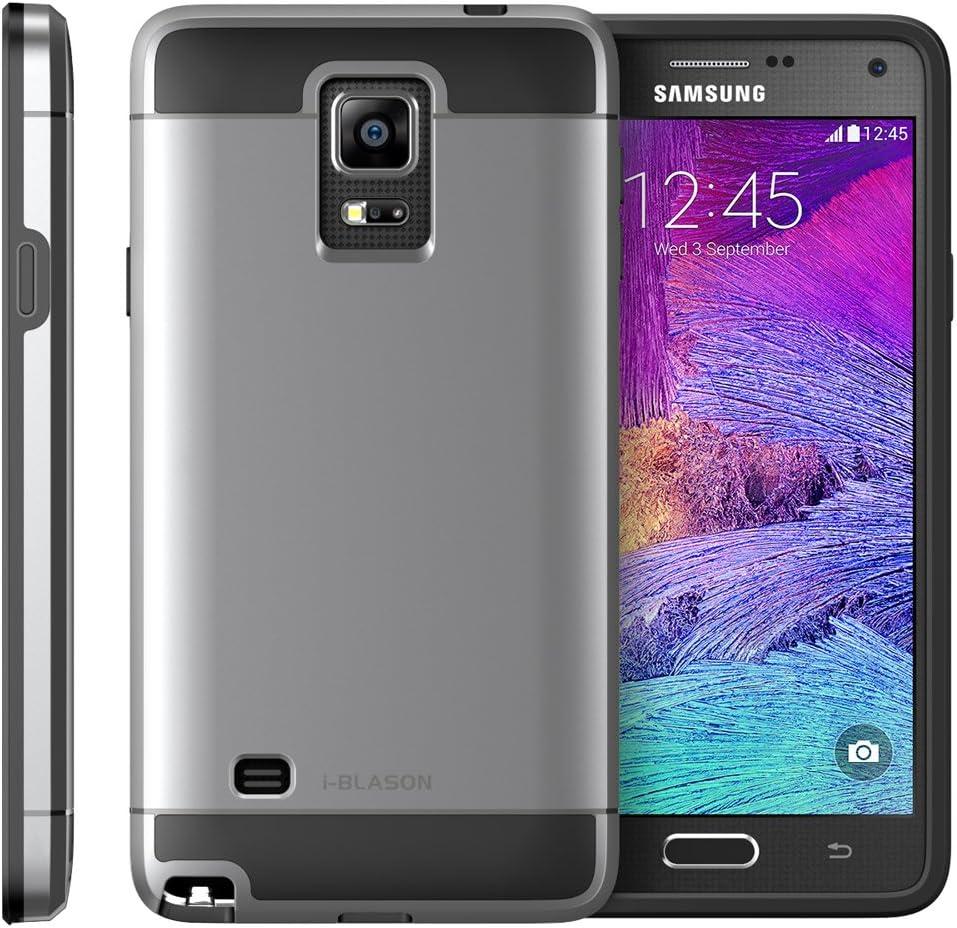 Galaxy Note 4 Coque – i-Blason Étui Samsung Galaxy Note 4 Unity série 2 Coque hybride double couche ultra fine [] [pour Samsung Galaxy Note 4 ...