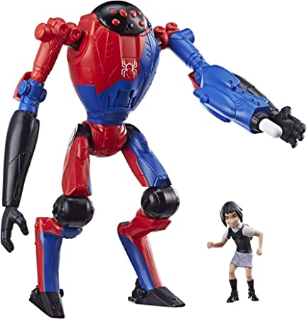 Into The Spider-Verse Peni Parker Cosbaby Bobble Head PVC Figure Model Toy
