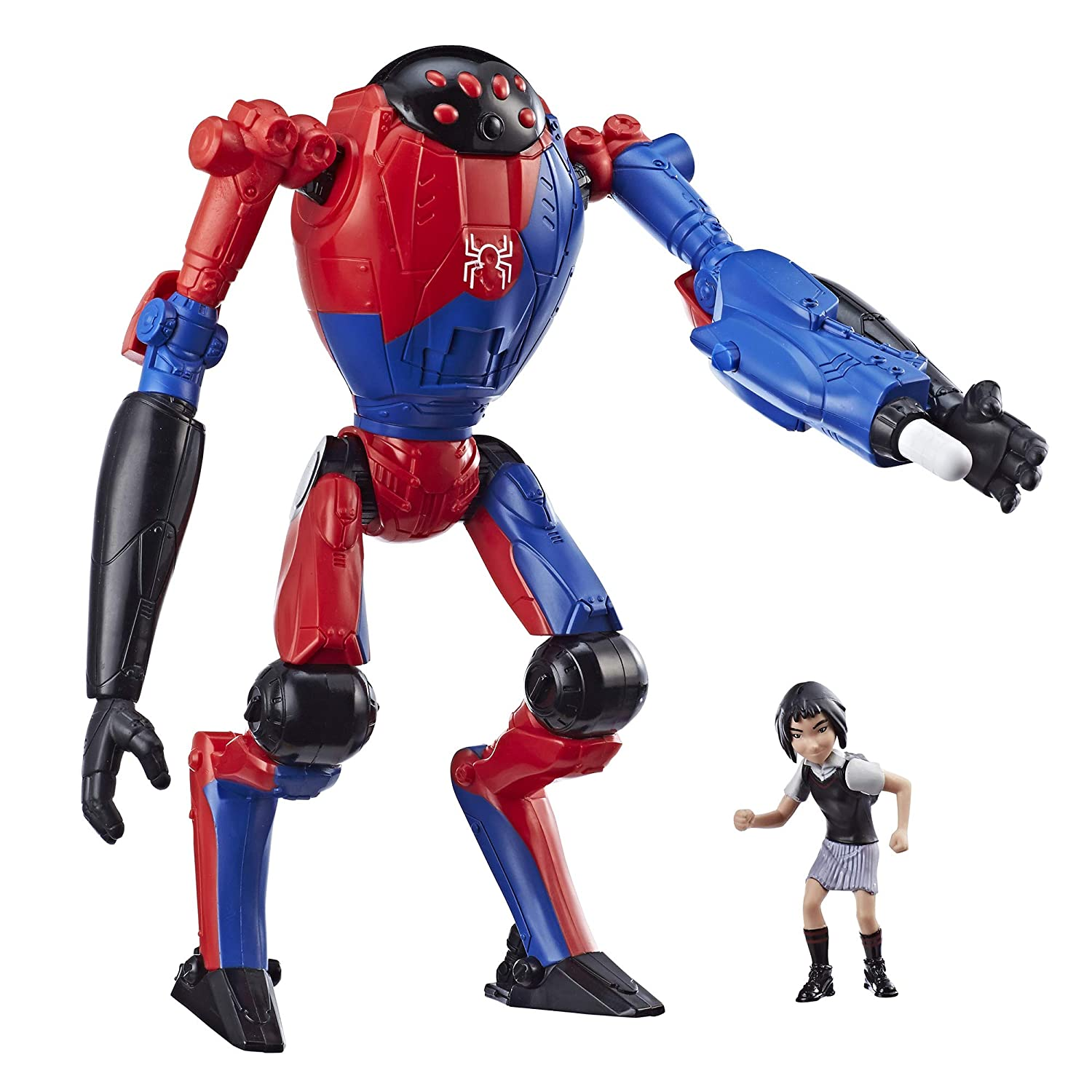 Spider-Man: Into The Spider-Verse SP//Dr & Peni Parker 6'-Scale Super Hero Figure Toy Hasbro E2888