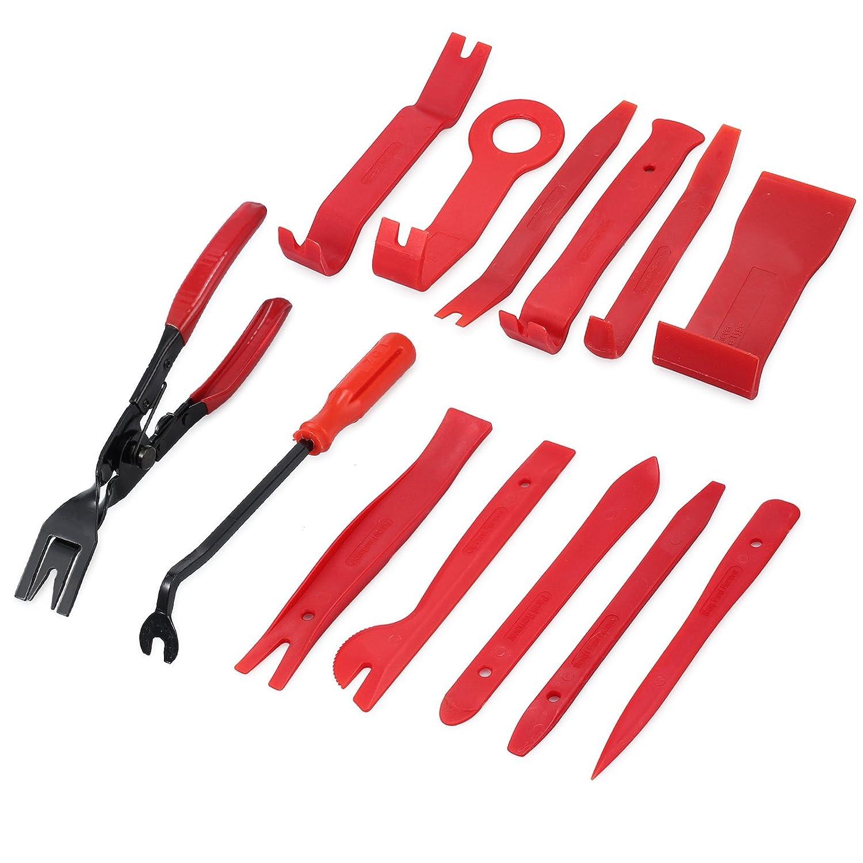 Amazon com: Car Trim Removal Tool Justech 13 Pcs Auto Trim