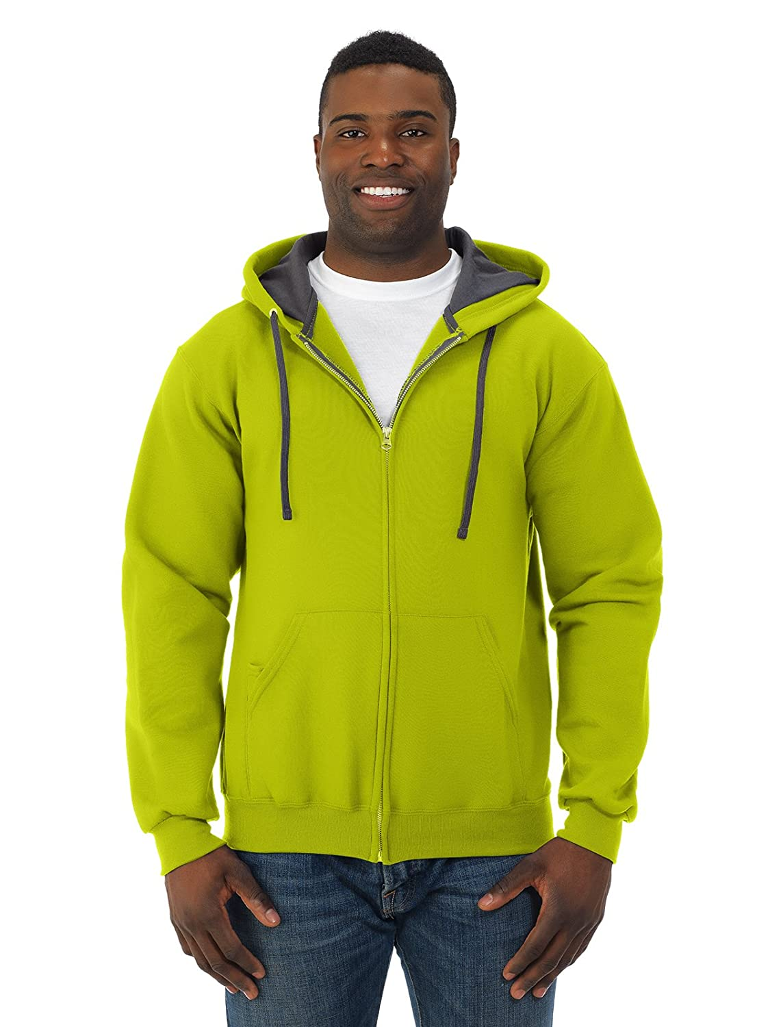 Fruit of the Loom SF73R Unisex Adult 7.2oz Sofspun Full-Zip Hoody Cotton Blend