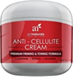 ArtNaturals Cellulite Cream Treatment with Retinol - 120ml - Contains Caffeine and Seaweed - Body Firming, Tightening and Toning - Erase Dimples from Legs, Arms, Stomach and Buttocks