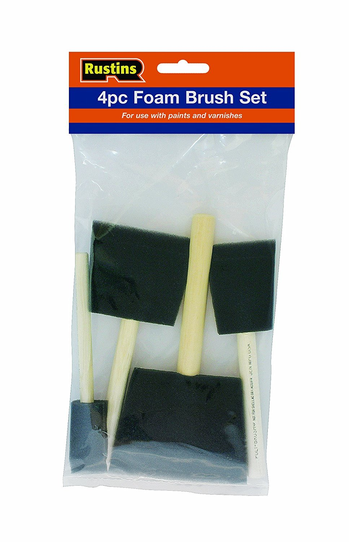 Rustins PBRUSHPACK Foam Brushes
