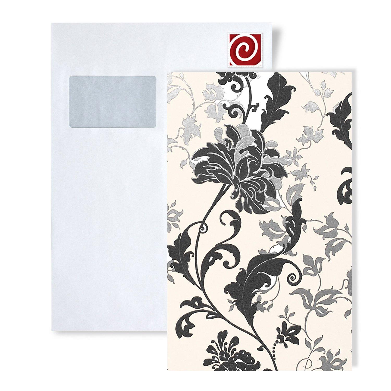 Wallpaper Sample Edem 833 Series Luxury Floral Design Flowers