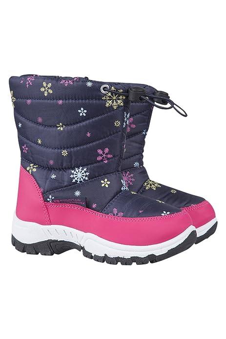 Botas Cómodos NieveCálidos Con Warehouse A Para Interior Y Estampado Caribou Zapatos Forro Niños Nieve Prueba De Mountain 9EWI2DH